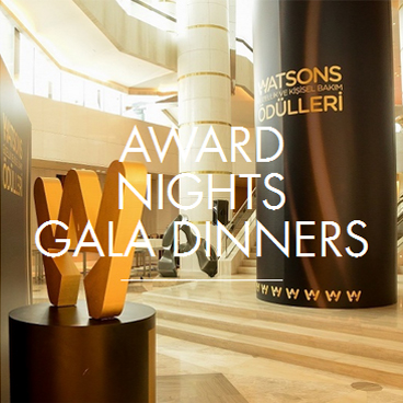 AWARD NIGHTS GALA DINNERS